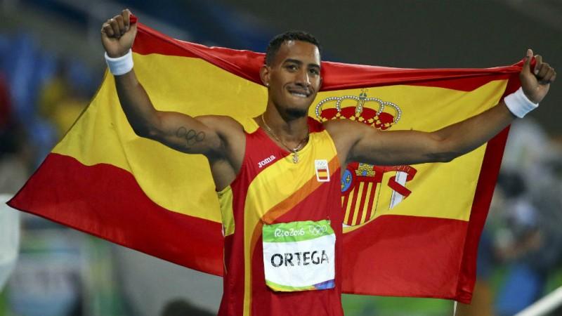 Ortega representarà Espanya als 110 metres tanques, Cofil a República Dominicana en la prova 4x400.   Foto: RTVE