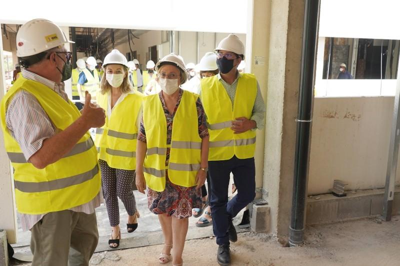 Es preveu que les obres de l'Hospital finalitzen l'any 2023.