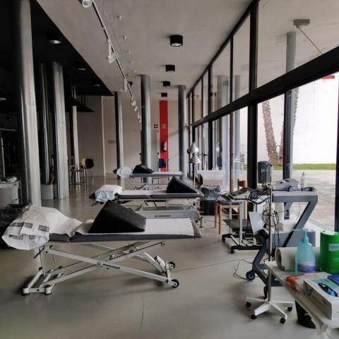La sala Gomis podria ser la seua de la vacunació massiva a Ontinyent.