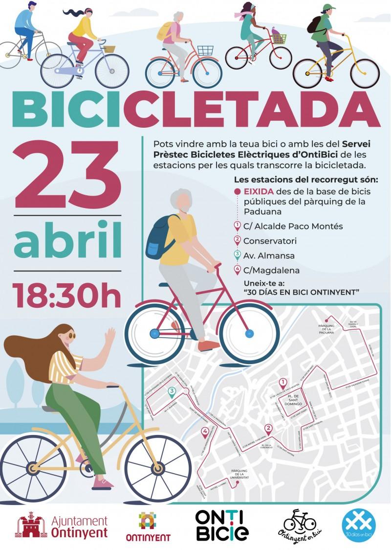 Cartell de la bicicletada