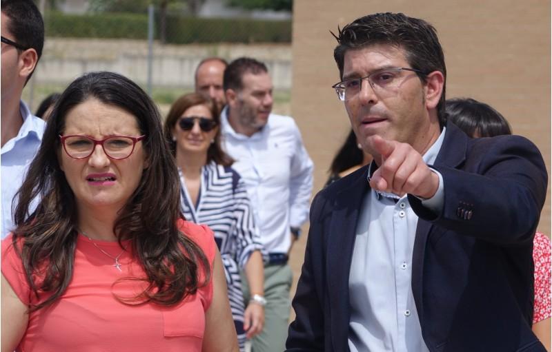 Jorge Rodríguez i Mónica Oltra.
