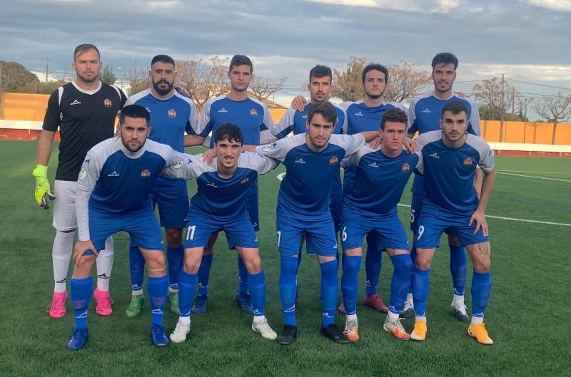 Onze del SIA Benigànim en un partit d'aquesta temporada