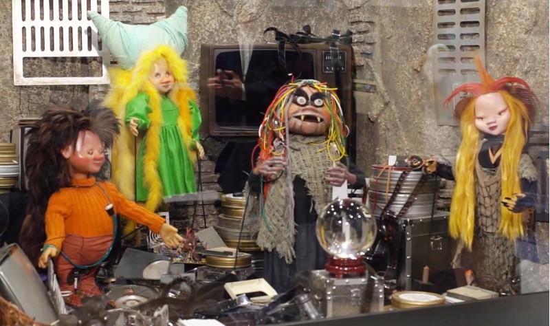 Juan Villa ha estat el responsable de la restauració de les marionetes.