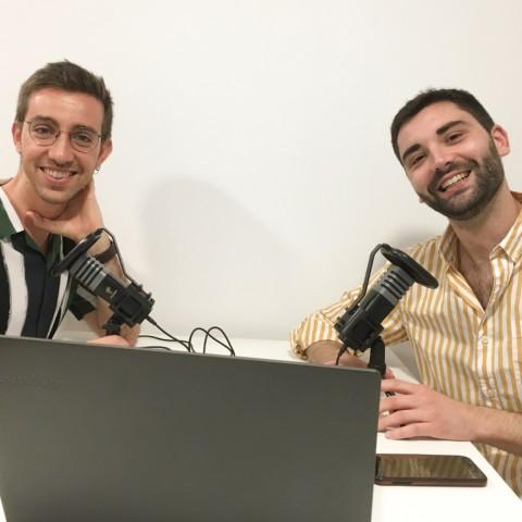 Gonzalo Borredà i Tono Calabuig presenten 'Parlar per no callar'.
