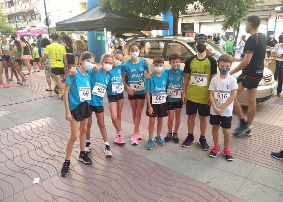 El Club Atletisme Vall d'Albaida (CAVA) va participar en la prova del dissabte.