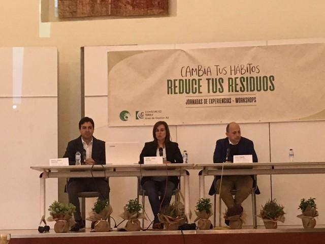 Les jornades comptaren amb la presència del Director general de Qualitat Ambiental de la GVA. Joan Piquer