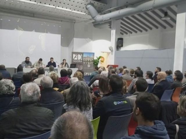Presentació del llibre de Rafa Segura a l'Àgora d'Alcoi/CS