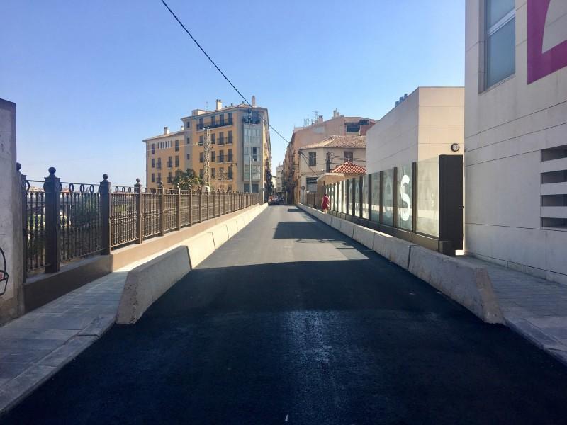 Pontó Sant Jaume reparat/Ajuntament d'Alcoi