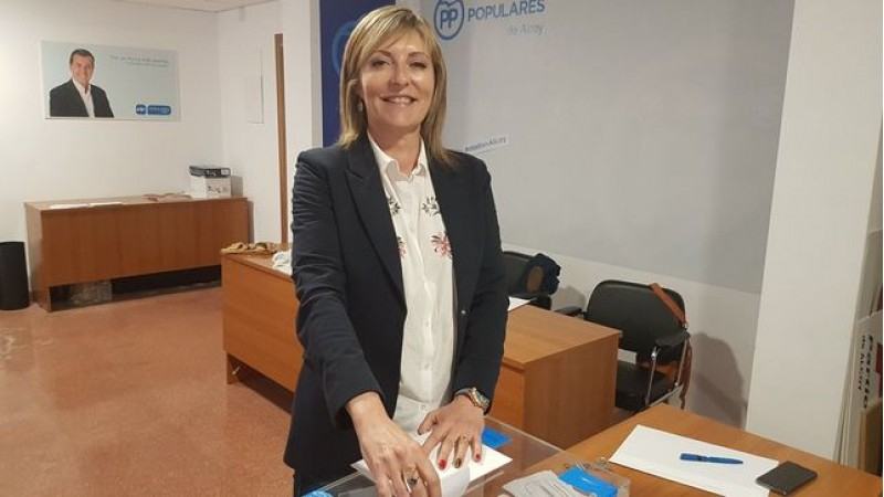 AmaliaPayá, regidora del Partit Popular