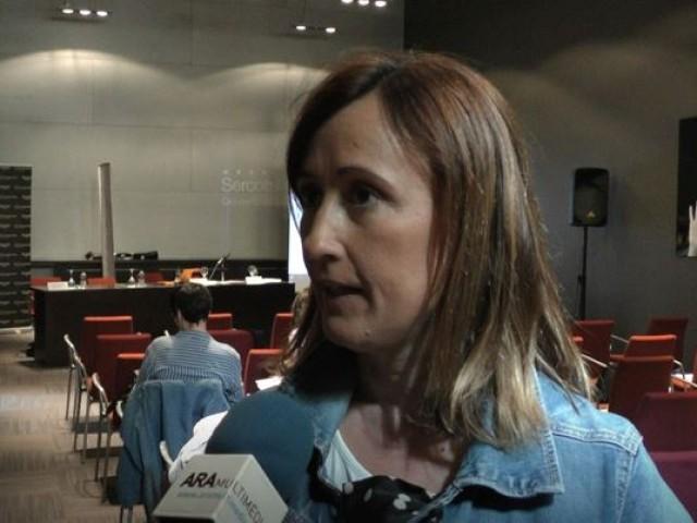 Aroa Mira en la darrera entrevista com a regidora en funcions