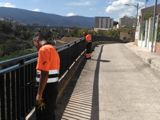 Operaris municipals contractats amb el programa 'Avalem Joves'/ Obres i Serveis Ajuntament d'Alcoi