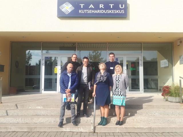 Alcoi i el municipi estonià de Tartu, lligats gràcies alCIPFP Batoi