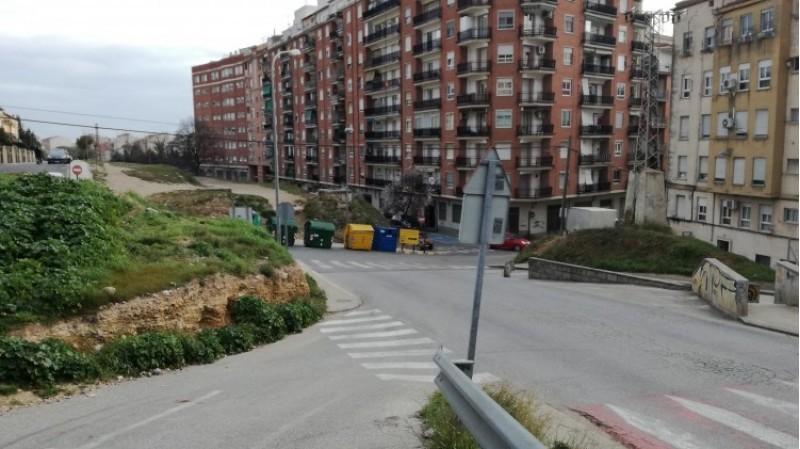 Zona d'encreuament al Bulevard