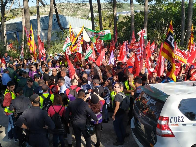 Manifestació a Ontinyent / Foto arxiu