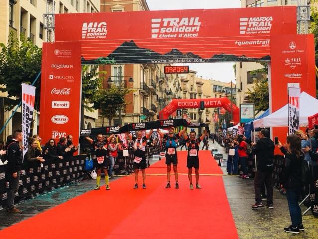 Equip Corremón, guanyador del VI Trail Solidari 'Ciutat d'Alcoi' / Xarxes socials