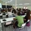 Alumnes del grau de magisteri infantil durant la primera sessió del curs / AM