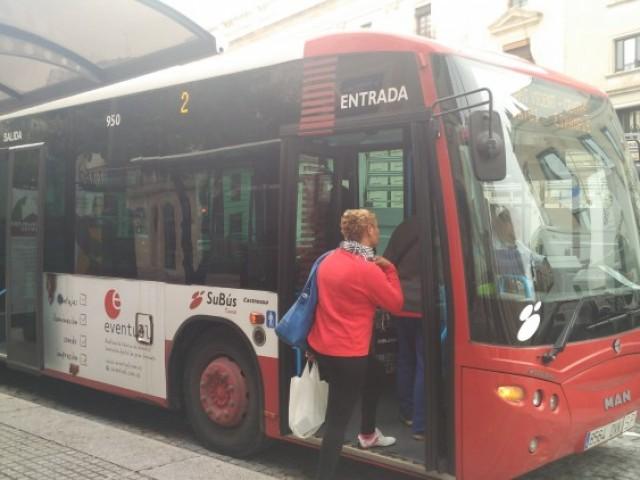 El transport urbà d'Alcoi és gratuït durant els dissabtes de Nadal