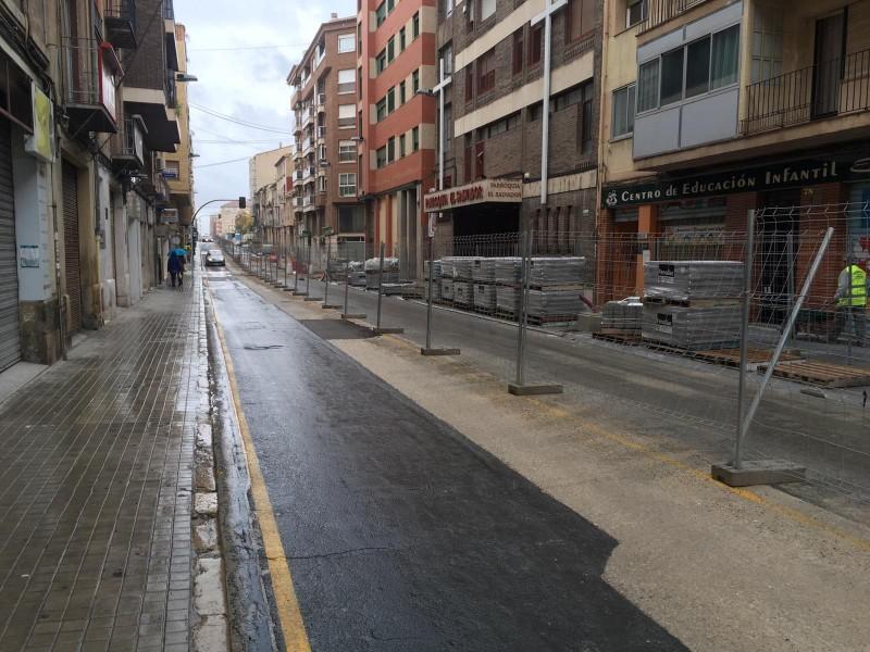 Les obres al carrer Entença aquest mateix divendres 16 de novembre /AM