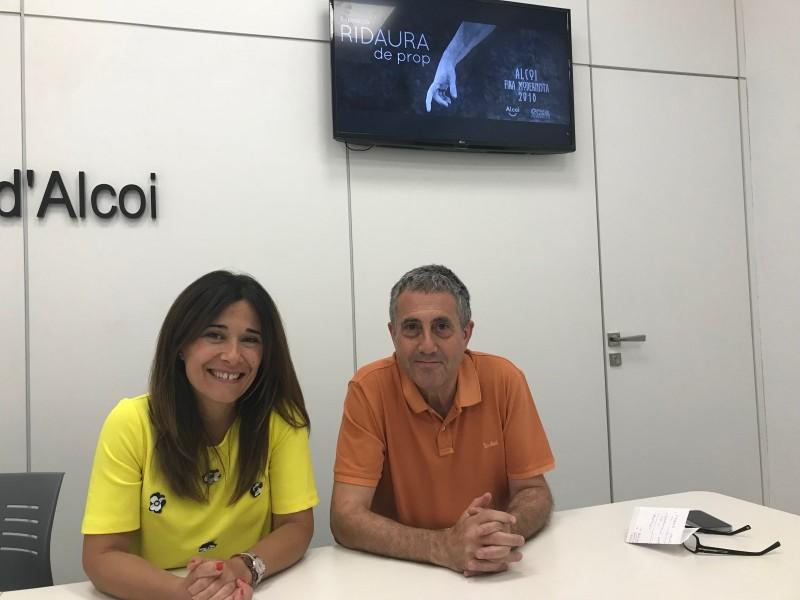 Lorena Zamorano i Pep Jordà/Ajuntament d'Alcoi