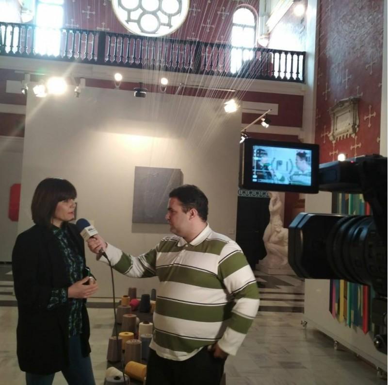 Aitor Pla, director de Fresneda Magazine, en una col·laboració amb ARAMULTIMÈDIA