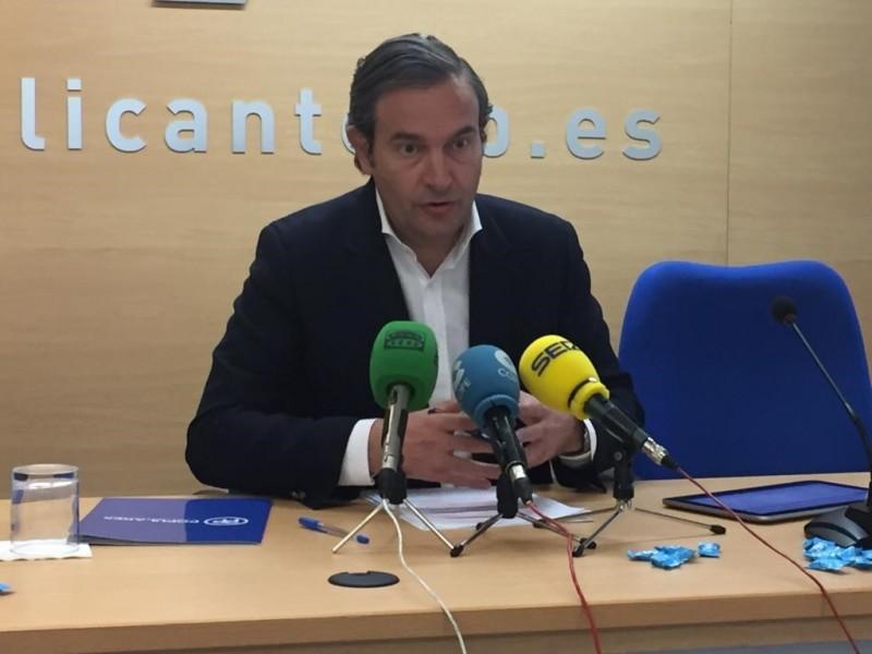 L'alcoià Fernando Pastor, diputat autonòmic a les Corts Valencianes pel Partit Popular.