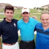 Luis Agulló (guanyador de 1ª), Carlos Sempere (guanyador absolut) i Virginio Ruiz (2ª)/Club de Golf Alcoi