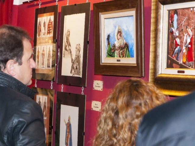 El Museu Alcoià de la Festa acull una mostra d'il·lustracions del segle passat per a la Revista de Festes