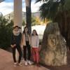 Nuria Belda, Soraya Egea i Sofia Soriano, del col·legi MIguel Hernández