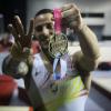Néstor Abad amb el bronze aconseguit a París / Instagram