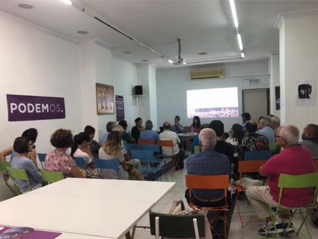 Reunió a la seu de Podem Alcoi / Facebook Podem Alcoi