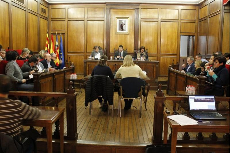 Plenari municipal del mes d'octubre