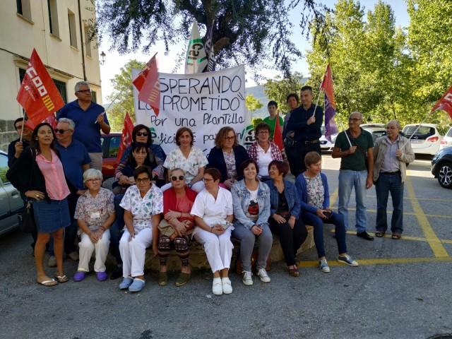 Les treballadores del Preventori reprenen les protestes davant les promeses incomplides