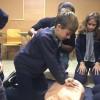 La Salle instrueix els seus alumnes en tècniques de reanimació