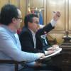 Rafa Miró, durant el plenari del 17 de desembre.