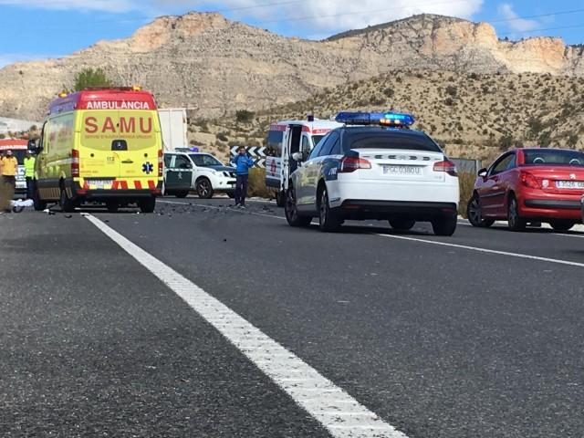 Accident mortal a Xixona