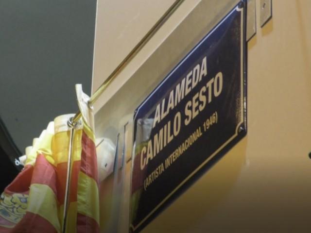 CamiloSesto s'emociona a la seua Alameda