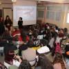 Alissiaés l'artista resident en l'IES Andreu Sempere