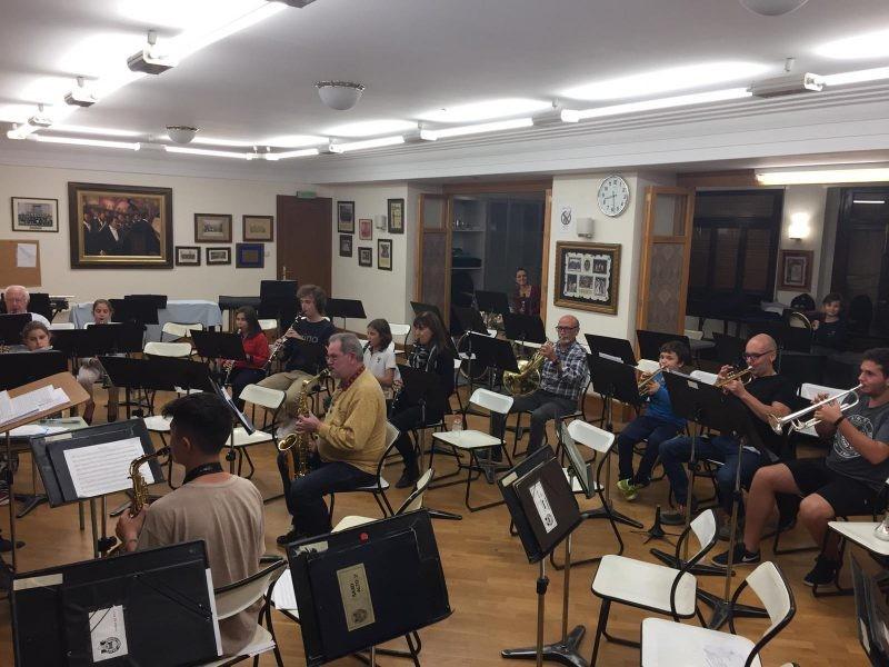 La Banda Jove realitza els seus assajos cada dijous des de l'inici del curs / Duna Valor