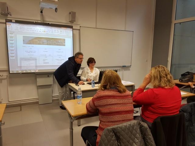 ElCIPFP Batoi viatja al país Basc a presentar els seus projectes davant altres docents