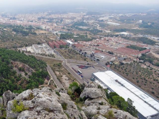 Vista de Batoi des del Castellar