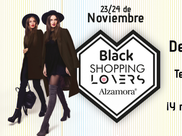 El Centre Comercial Alzamora celebra el seu particular 'Black Friday'