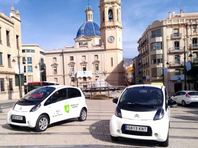 Cotxes elèctrics adquirits per l'Ajuntament