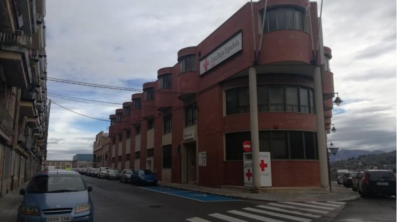 Edifici central de Creu Roja, al carrer Roís de Corella