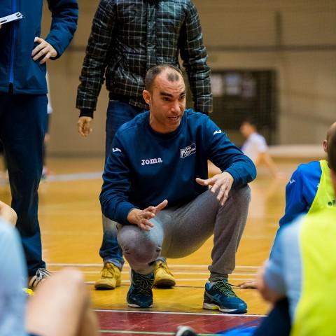 David Peinado donant instruccions durant la temporada / PST Fotografía