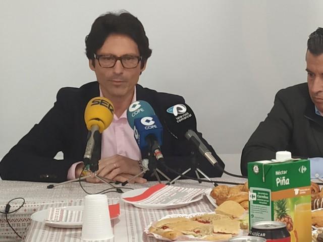 """QuiqueRuiz, alcaldable pel PP: """"Gestionarem Alcoi a partir de juny, i amb el pressupost que planteja el PSOE és molt difícil donar el revulsiu que necessita la ciutat"""""""