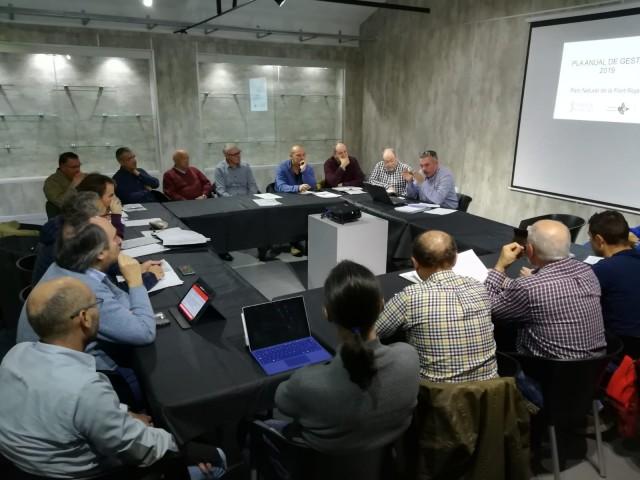 Moment de la reunió del Consell de Protecció