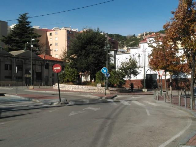 Plaza Gonzalo Cantó, on es troba situat el local d'oci nocturn.