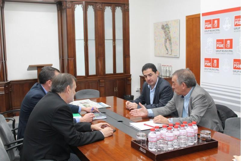 Reunió amb el Secretari Autonòmic d'Educació i Investigació, Miquel Soler.