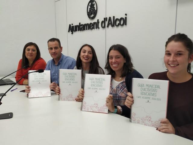 Més de 100 activitats educatives, ara en un catàleg únic a disposició dels col·legis alcoians