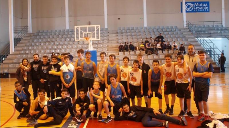 Foto d'equip amb alguns participants del torneig